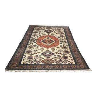 Vintage Persian Oushak Style Carpet - 7′6″ × 10′10″