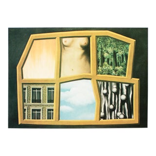"""1972 Rene Magritte, """"The Six Elements"""" Original Photogravure For Sale"""