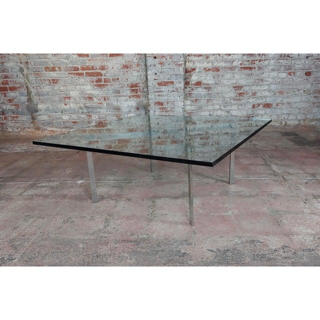 1960s Knoll Studio Barcelona Coffee Table -Mies Van Der Rohe For Sale - Image 5 of 9