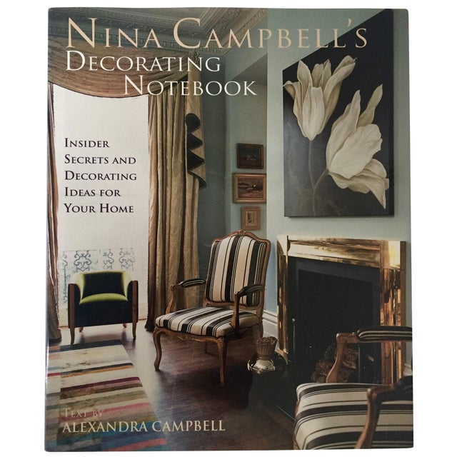 Nina Campbell's Decorating Notebook-2004 For Sale