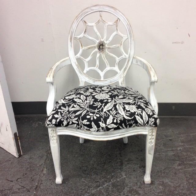 John Widdicomb Medallion Arm Chair - Image 3 of 10