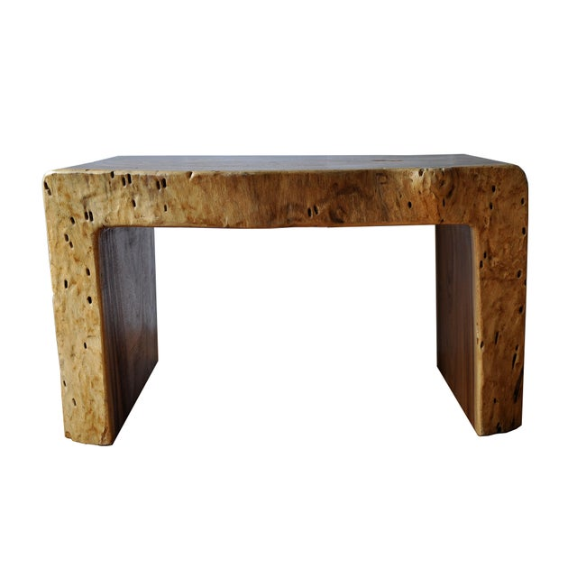2000 - 2009 Boho Chic Acacia Coffee Table For Sale - Image 5 of 10