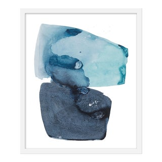 "Medium ""Watercolor Study Artic Ocean"" Print by Kate Roebuck, 20"" X 24"" For Sale"