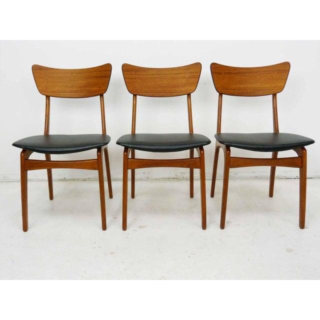 Svend Madsen Svend Madsen for Sigurd Hansen Model 60 Dining Chairs - Set of 6 For Sale - Image 4 of 10