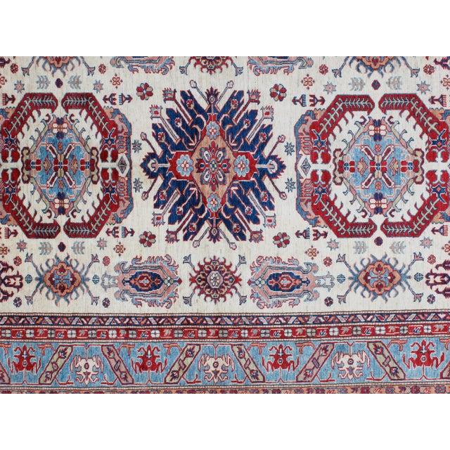 "Persian Leon Banilivi Khotan Ghanzi Wool Carpet - 6'1"" X 8'5"" For Sale - Image 3 of 6"
