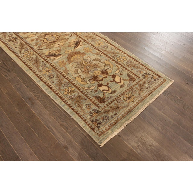 """Persian Sultanabad Rug - 3'2"""" x 13'9"""" - Image 10 of 10"""
