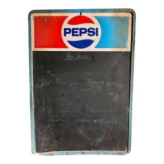Vintage Pepsi Chalkboard Sign