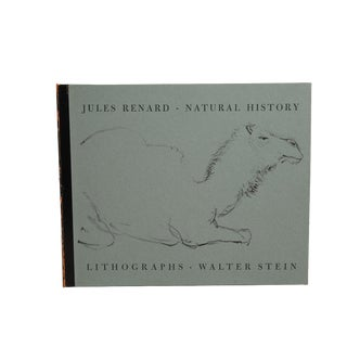 """1960 """"Signed Limited Edition, Natural History"""" Coffee Table Book For Sale"""
