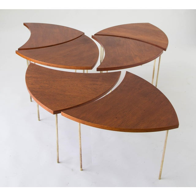 Peter Hvidt and Orla Mølgaard-Nielsen Modular Coffee Table For Sale In Los Angeles - Image 6 of 10