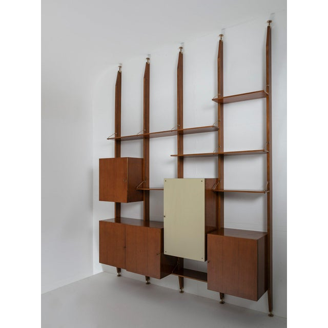 Italian 50s Bookcase For Sale - Image 11 of 11
