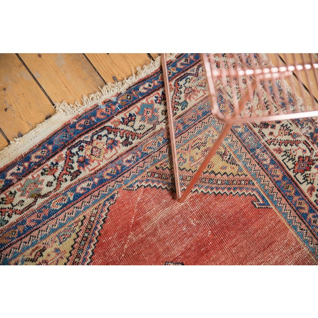 """Islamic Antique Malayer Rug Runner - 3'8"""" x 7'6"""" For Sale - Image 3 of 13"""
