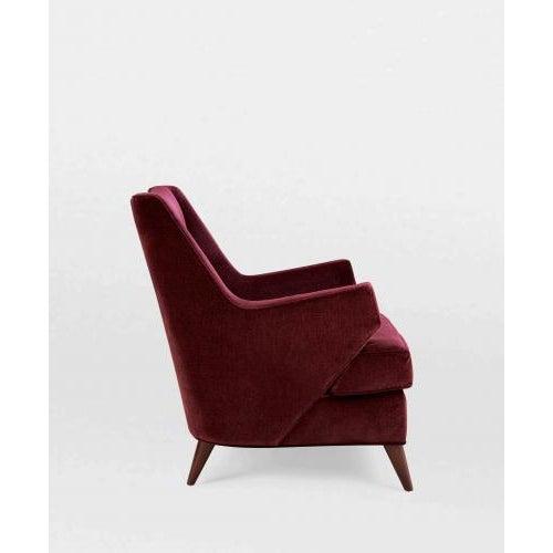 Contemporary Studio Van den Akker Benjamin Club Chair For Sale - Image 3 of 5