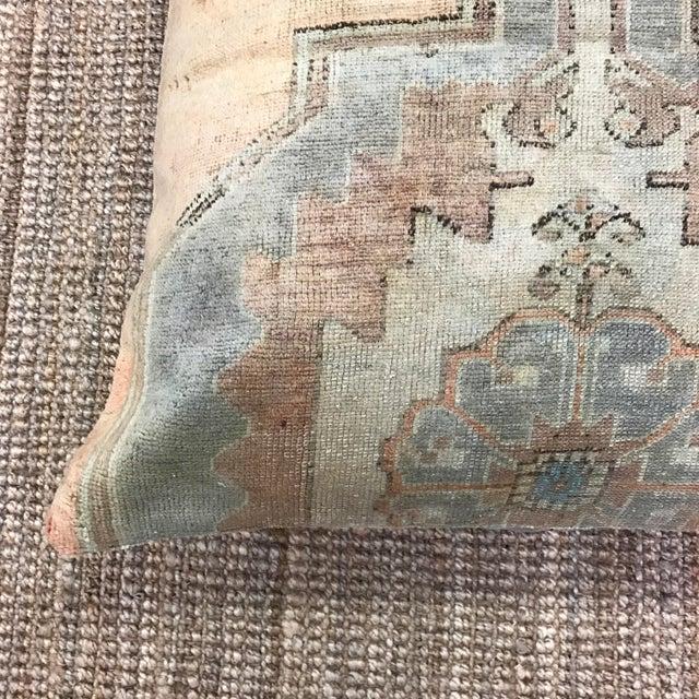 Boho Chic Adele Vintage Floor Pouf For Sale - Image 3 of 4