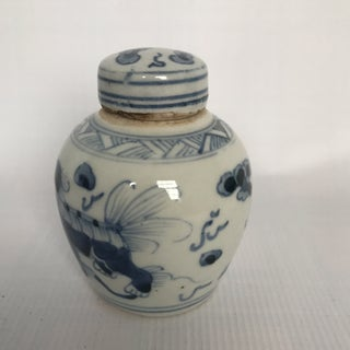Chinese Blue & White Porcelain Ginger Jar Preview