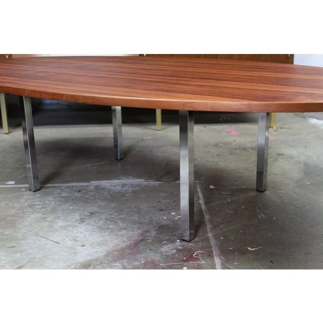 Thayer Coggin Brazillian Rosewood Coffee Table - Image 5 of 6