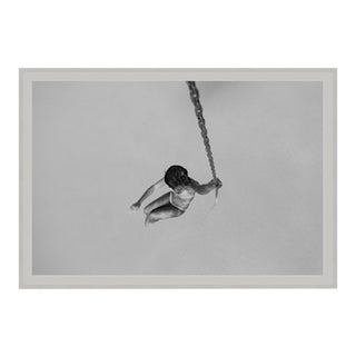 """Swing"" Framed Floated Print Photograph on Rag Paper by Enric Gener For Sale"
