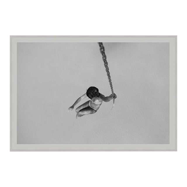 """""""Swing"""" Framed Floated Print Photograph on Rag Paper by Enric Gener For Sale"""