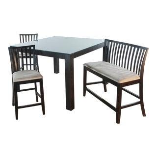 Scandinavian Designs Four-Piece Dining Set - 4 Pieces For Sale