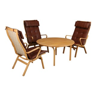 1960s Swedish Finn Østergaard Swedish Lounge Set - 4 Pieces For Sale