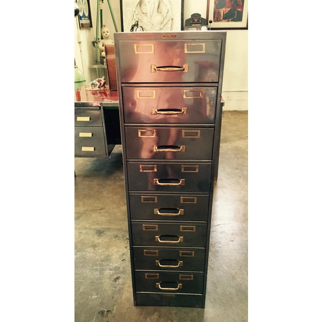 Whenever form meets multi-function—I'm ON BOARD. Love this elegant workhorse—8-drawer, up-cycled, vintage modern, two-...