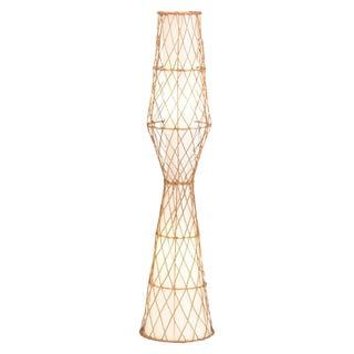 Rattan Floor Lamp No. 1 For Sale