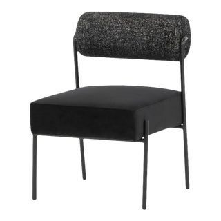 Marni Dining Chair In Salt & Pepper For Sale