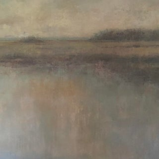 """Low-Country Marsh """"This Place Again"""" Waterscape Oil Painting on Canvas For Sale"""