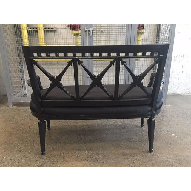 Two Louis XIV Style Loveseats For Sale - Image 4 of 9