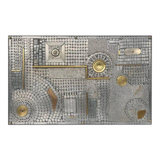 Mosaic Brutalist Coffee Table or Wall Sculpture