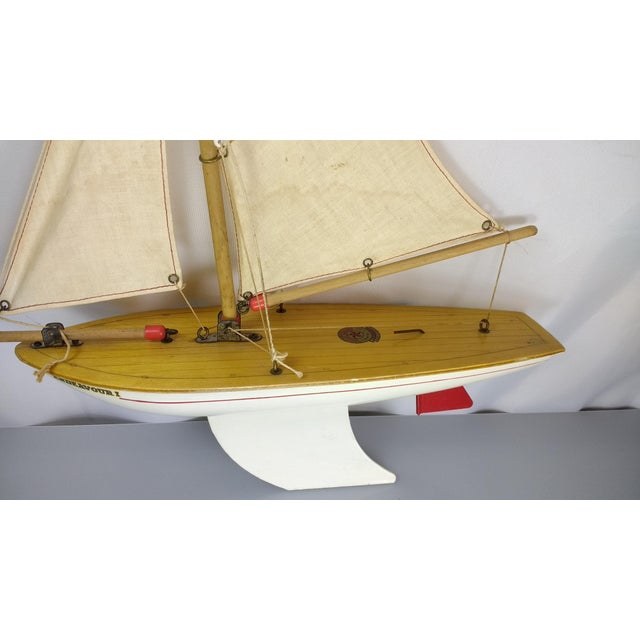 Vintage Star Yacht Pond Sail Boat For Sale - Image 9 of 11