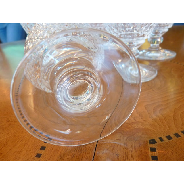 Multi Faceted Crystal Water Goblets - 6 - Image 6 of 7