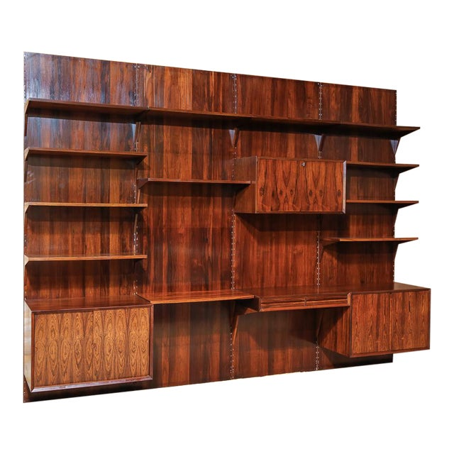 online store bd258 42e0c Cado Royal System Rosewood Wall Unit