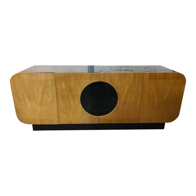 Modern Wood Credenza by Casa Bique For Sale