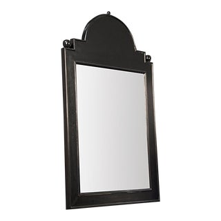 Jess Mirror, Hand Rubbed Black For Sale