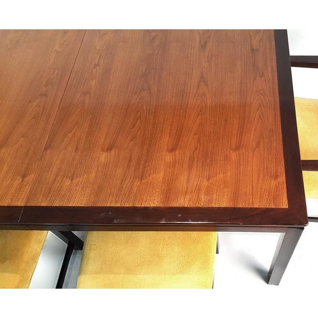Edward Wormley for Dunbar Formal Dining Table and Chairs - Image 6 of 10