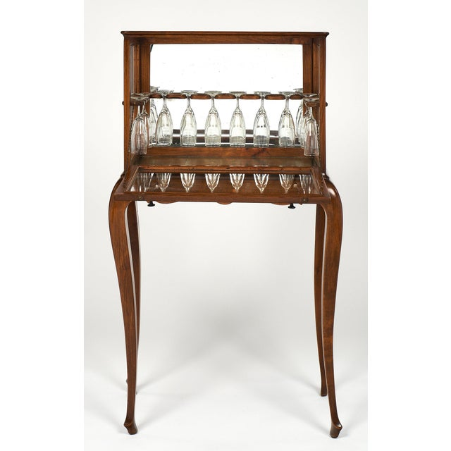 French Art Deco Champagne Cabinet/Bar For Sale In Austin - Image 6 of 12