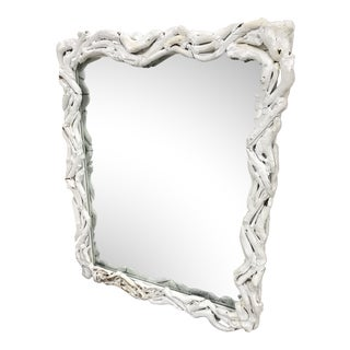 1920s Antique Wall Mirror For Sale
