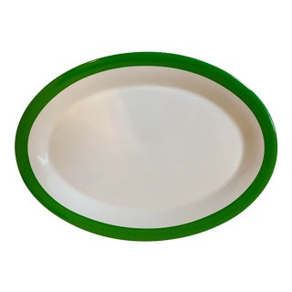 Kate Spade Lenox Rutherford Green Serving Platter For Sale