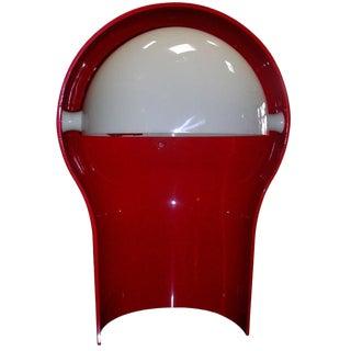 Red Telegono Lamp for Artemide For Sale