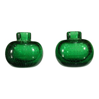 Murano Bud Vases - A Pair For Sale