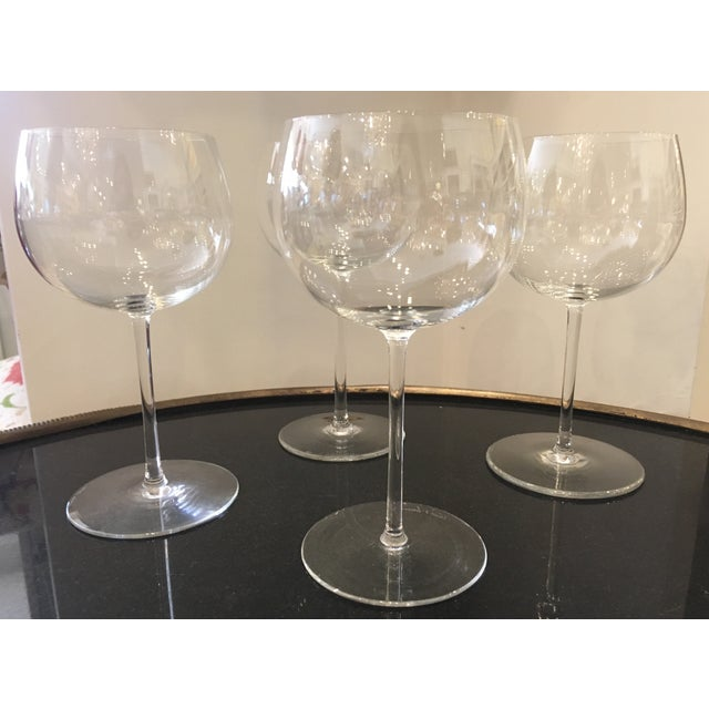Val St Lambert Wine Goblets - Set of 4 - Image 2 of 11