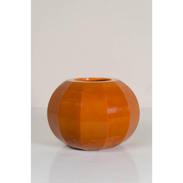 Glass Mila Peking Hand Blown Glass 12 Facet Jarlet by Robert Kuo For Sale - Image 7 of 7