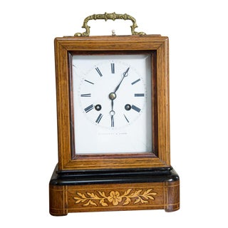 Raingo Freres a Paris Carriage Mantle Clock