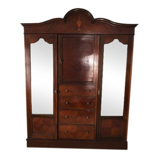 Antique Mid Century French Armoire
