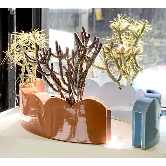 Ceramic Edger Vase by Micah Heimlich For Sale - Image 7 of 10