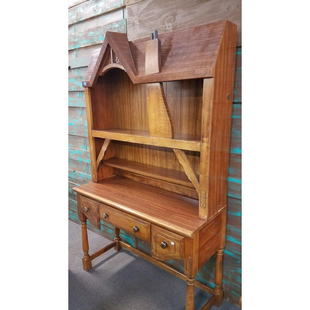 Whimsical Desk from Disney Magic Kingdom Collection by Lea Rare and hard to find Desk with adorable Hutch. Has 3 drawers...