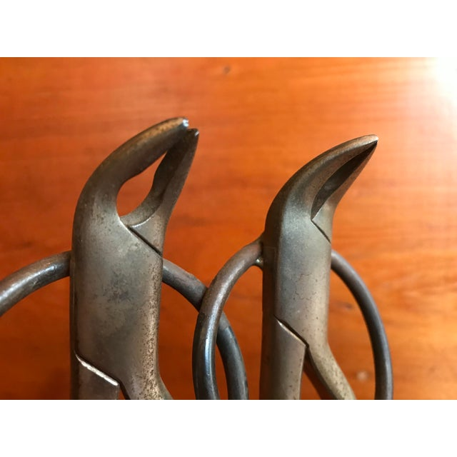 French Folk Art Dancing Pliers Sculpture For Sale In Seattle - Image 6 of 11