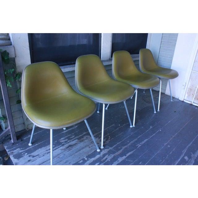 Eames La Fonda Lowback Chairs - Set of 4 - Image 10 of 11