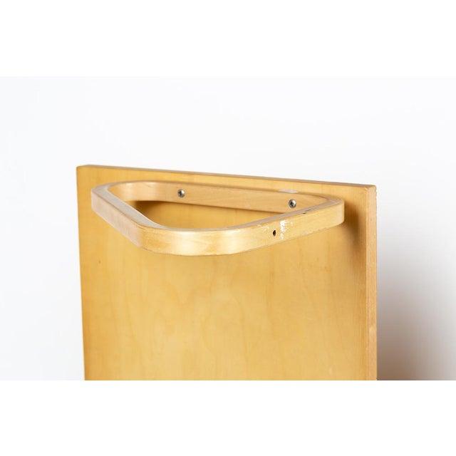 Brown 1970s Alvar Aalto Shelves - a Pair For Sale - Image 8 of 10