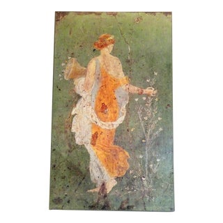 Neoclassical Roman Women Print on Canvas For Sale